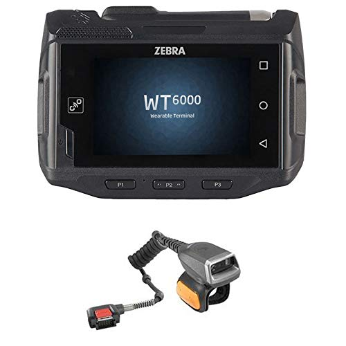 Best Review Of Zebra WT60A0-TS0LEUS Android Barcode Scanner with Ring Scanner RS4000-HPCSWR