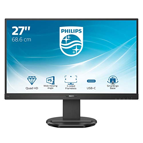 Philips Monitor 276B9/00-27', QHD, 75Hz, IPS, Adaptive Sync, (2560x1440, 300 CD/m, HDMI, Displayport 1.2)