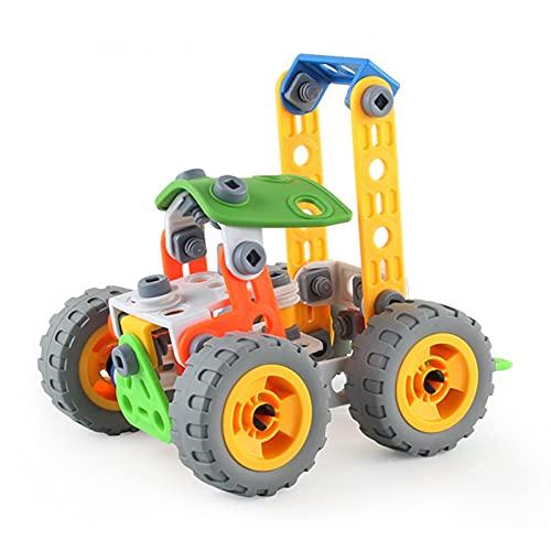 flou Stapeln Von Spielzeugsatz, Beißringkinder Kleinkind Spiele Spielzeug Nichttoxisches Montagetechnik Fahrzeugset Für Alle Altersgruppen (3 Jahre Alt) In Klassenzimmern, Kindergärten