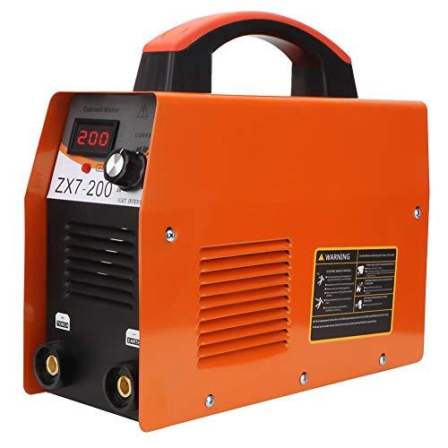 Zerone Máquina de Soldadura Inverter, Kit de Soldadura de Varilla Inversor, ARC MMA-200Amp