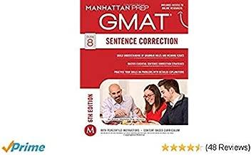Sentence Correction GMAT Strategy Guide, [Paperback] Manhattan Prep