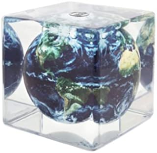 MOVA Earth with Clouds Globe Cube 5