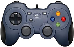 Logitech G F310 Gamepad, Gaming controller, console layout, 4 sWitch D-pad, 1.8meter kabel, PC/Steam/Windows/enroidTV -...