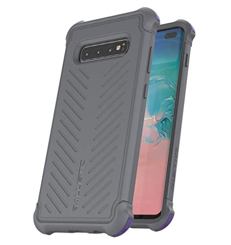 BALLISTIC Tough Jacket Series for Samsung Galaxy S10 Plus - Gray