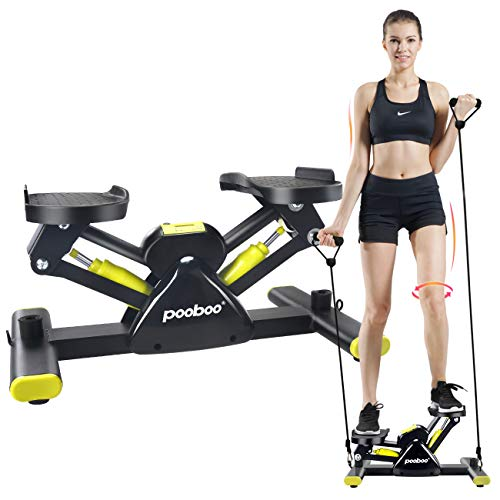 L NOW Adjustable Mini Stair Stepper Exercise Equipment Step Machine (S6) from L NOW