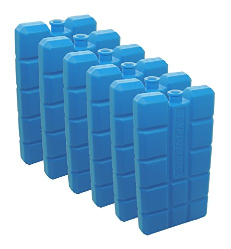 NEMT 4 Stück Kühlakkus Kühlelemente je 200ml für Kühltasche oder Kühlbox bis 12 h Kühlpack Kühlakku