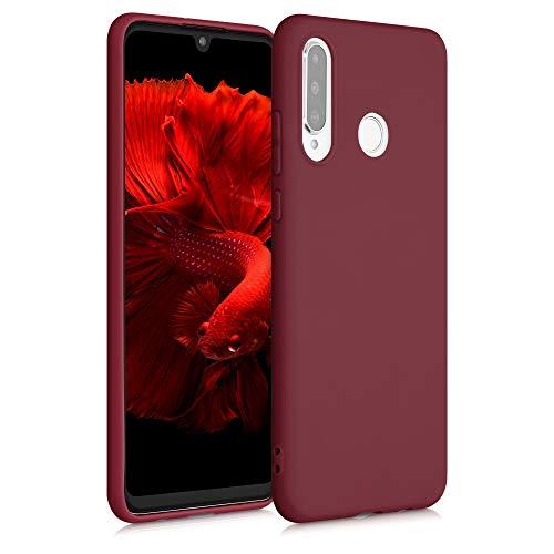kwmobile Hülle kompatibel mit Huawei P30 Lite - Handyhülle - Handy Case in Rhabarber Rot