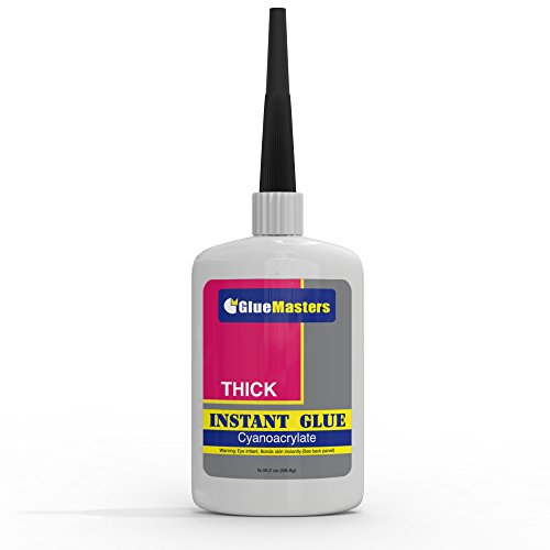 Professional Grade Cyanoacrylate (CA)'Super Glue' by Glue Masters - 56 Grams - Thick Viscosity...