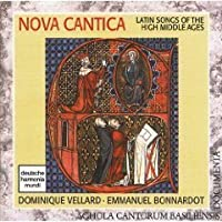 Nova Cantica - Latin Songs of the High Middle Ages / Dominique Vellard and Emmanuel Bonnardot (DHM)