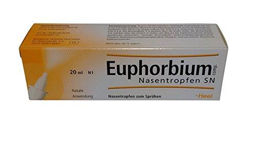 Ferse EUPHORBIUM COMPOSITUM S Nasenspray–homöopathischen Medizin