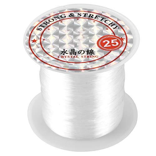 Lopbinte 18.6 kg de capacidad 0.5 mm de diámetro de nylon transparente línea de pesca carrete