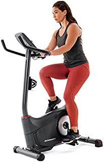 Schwinn Fitness 130 Upright Bike (Model Year 2020), Black
