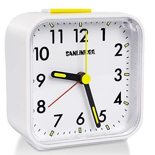 sanlinkee -   Wecker Analog Ohne