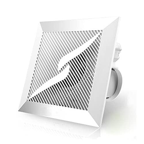 Ventiladores extractores de ventilación 8/10 / 12inches Extractor en línea Extractor de escape Ventilador de ventilación ventilador para ventana de ventilación de ventilación Attic Fan Fan de escape p