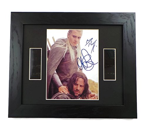 Lord of the Rings Cast Signed + Original Film Footage Framed by artcandi