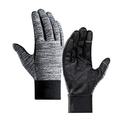 FENICAL 1 par de guantes grises impermeables y a prueba de viento...