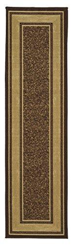 Ottomanson OTH2208-2X7 Ottohome Bordered Runner Rug, 1'10