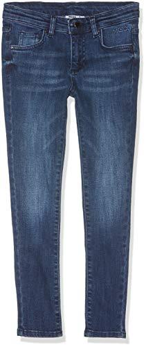 Mexx Mädchen Hose, Blau (Denim Mid Wash 300025), (Herstellergröße: 128)