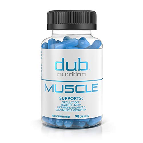 Muscle Recovery Workout Supplements by dub Nutrition | Testosterone Booster | Liver Cleanse Detox | Muscle Builder with BCAA, Milk Thistle, Saw Palmetto, Tribulus, and Beta Alanine 90 Capsules.