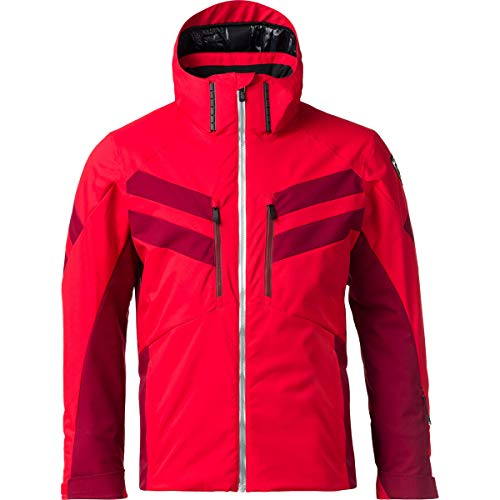 Rossignol Ski Jacke Herren Sport Red, XXL