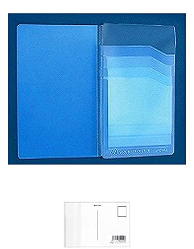 コレクト カードホルダー 差込式 8枚用 CH-08 【× 2 パック 】 + 画材屋ドットコム ポストカードA