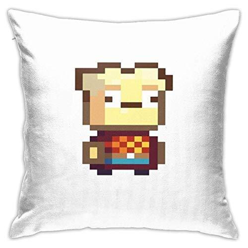 LAKILAN Nugget Square Kissenbezug Throw Pillow Sofa Kissen Autokissen Dekoration