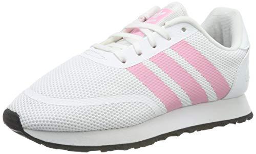 adidas N-5923 C, Zapatillas de Gimnasia Unisex Niños, Blanco (FTWR White/Light Pink/Core Black FTWR White/Light Pink/Core Black), 32 EU
