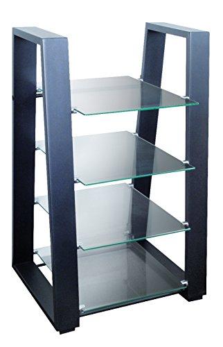 My Wall Hz 100 L - Soporte de pared, estante de TV / HiFi, negro