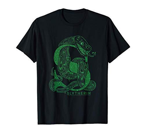 Harry Potter Slytherin Glitter Camiseta