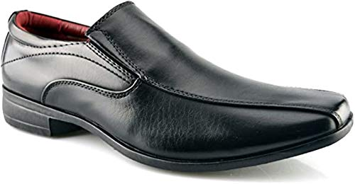 Mens New Office Work Back To School Slip On Twin Gusset Formal Shoes Size...