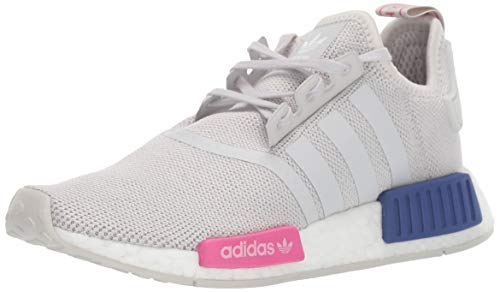 adidas Originals Unisex Kinder^Unisex Kinder NMD_R1 Laufschuh, Grau Grau Shock Pink, 38 EU