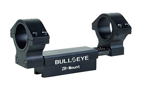 DIANA Bullseye 25.4 + 30 mm für 11mm Prismenschiene Zielfernrohr Montage, schwarz, 25.4/30mm