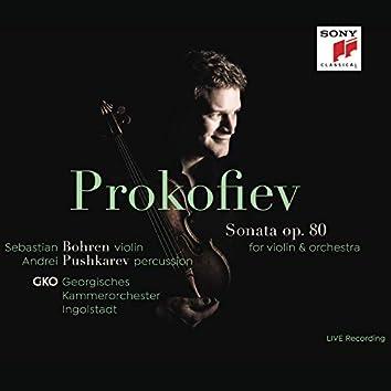 Prokofiev: Sonata for Violin, Percussion and String Orchestra (Live)