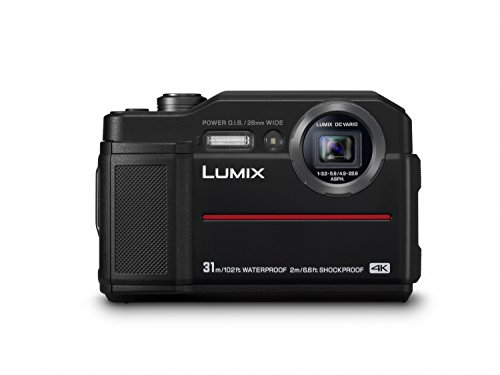 Panasonic LUMIX DC-FT7EG-K Outdoor Kamera (20,6 MP, 4K Foto, 4K Video, wasserdicht bis 31 m, USB, stoßfest bis 2m, schwarz)