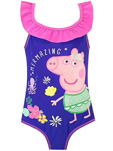 Peppa Pig Girls Swimsuit Pink 3-4 Years