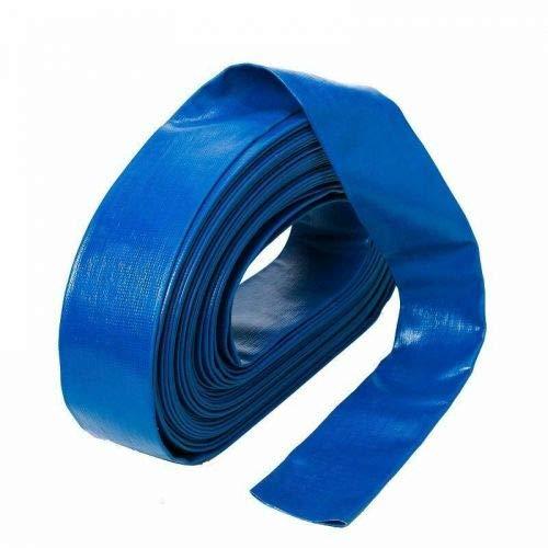 "Dambat/IBO 50 m 2\"" Zoll PVC Flachschlauch Wasserschlauch Flexibler Schlauch Pumpenschlauch"