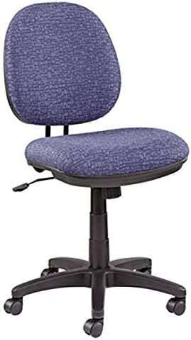 70% OFF Outlet Interval Marine Blue Fabric Office Black Nylon with Swivel Chair Limited time cheap sale
