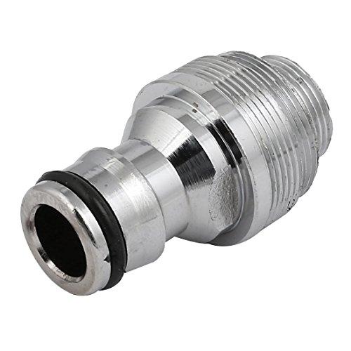 Sourcingmap - Adaptador de grifo para grifo de 16 mm macho con rosca extraíble