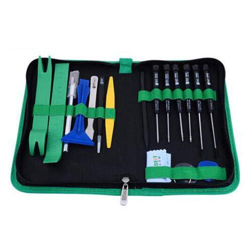 MEJOR BST-112 22 En 1 Profesional Teléfono Móvil PC Kit de Reparación de Apertura Herramienta Destornillador Set