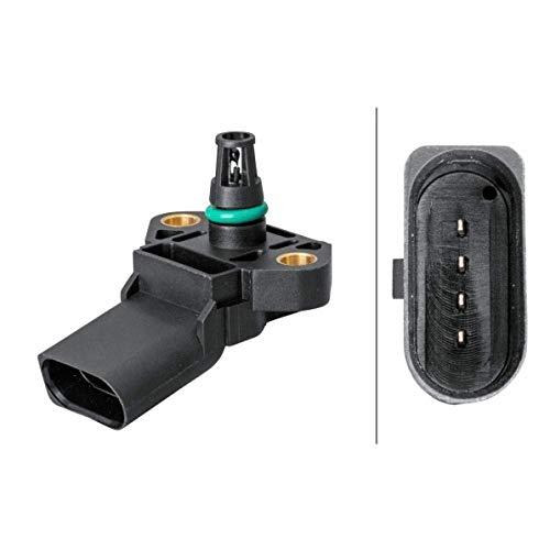 HELLA 6PP 009 400-471 Sensor, presión de sobrealimentación - 4polos - atornillado