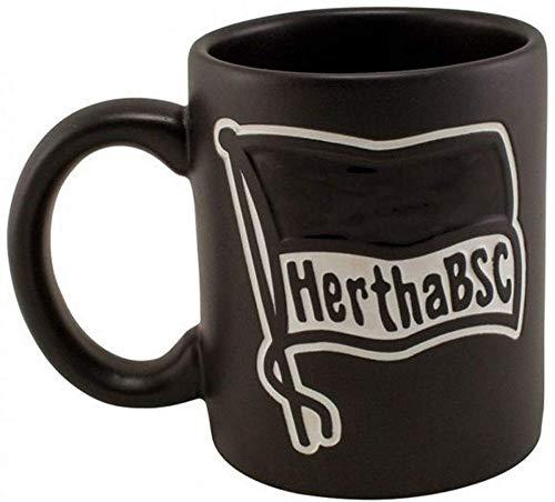 Hertha BSC Berlin Tasse - Prägung - Kaffeetasse, Kaffeebecher, Coffee Mug - Plus Lesezeichen I Love Berlin