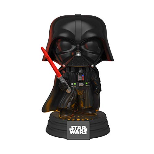 Funko -  Pop! Bobble: Star Wars -  Darth Vader Electronic Figura Coleccionable,  Multicolor (35519)