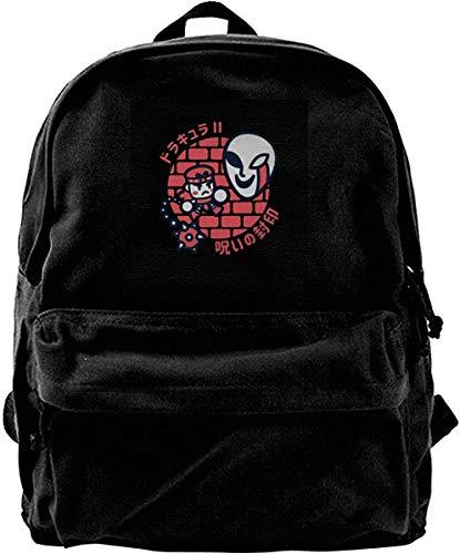 Canvas Rucksack Simons Little Quest Rucksack Gym Wandern Laptop Umhängetasche Daypack für Männer Frauen
