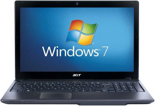 Acer Aspire 5750G 15.6 inch Laptop (Intel Core i3-2350M 2.3GHz, 4GB RAM, 500GB HDD, DVD SuperMulti DL, LAN, WLAN, Webcam, Windows 7 Home Premium 64-Bit)