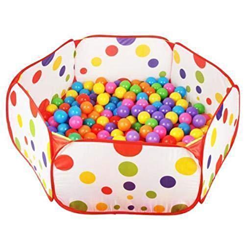 Piscina para niños Pool Baby Ball Pit, Casa de campaña de juego cercada 1m Tienda de juguete plegable con bolas de juguete para niños, Piscina de bolas de colores Piscina Play House.kids Juguetes, Jug