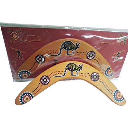 Holz Bumerang, Bumerang für Kinder & Erwachsene, professionelle Bumerang Dart zurück, Boomarang Outdoor Rasenspielzeug, Holz fliegende Bumerang Spielzeug