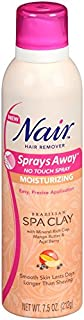 Nair Sprays Away, Brazilian Spa Clay, 7.5 Oz