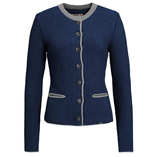 GIESSWEIN Strickjacke Joan - Damen Jacke aus 100% Lammwolle   Trachtenjacke   atmungsaktive Schurwolle   warme Strick Jacke Damen