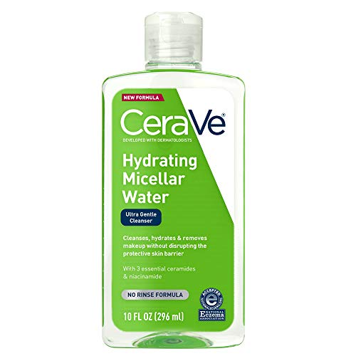 in budget affordable Micellar Water CeraVe | New and Improved Formula Moisturizing Facial Cleanser & Eye Makeup Remover |…