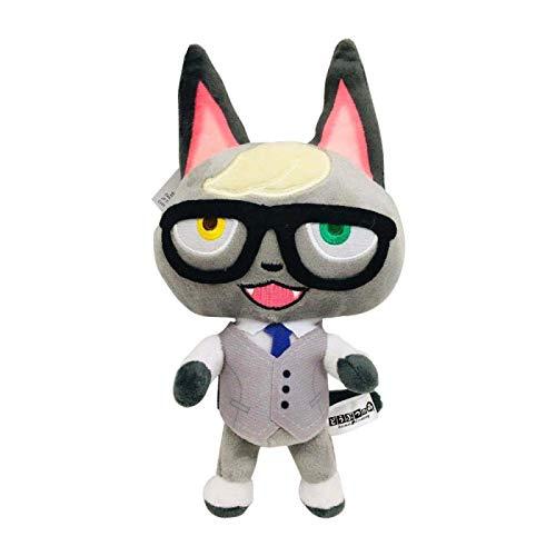 lhtczzb 20Cm Animal Crossing Peluche De Juguete, Interruptores Ketchup Marshals Tarjeta Amiibo Peluche De Juguete Slider Isabelle Muñeca De Peluche Regalos para Niños